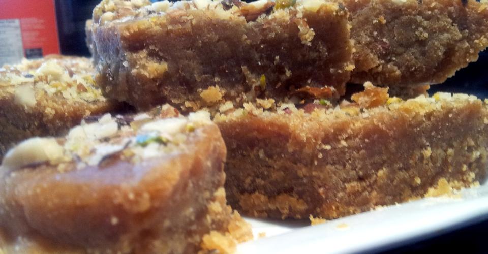 Chickpea Fudge (Besan-Ki-Barfi) | OMGies…
