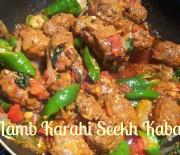 Lamb Karahi Seekh Kabab