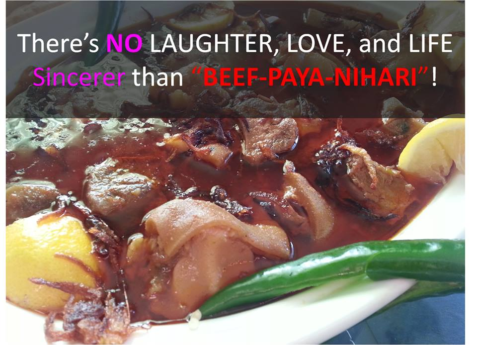 Beef Paya Nihari