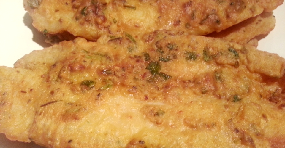Batter fried fish recipe machli fried pakora omgies for Batter fried fish