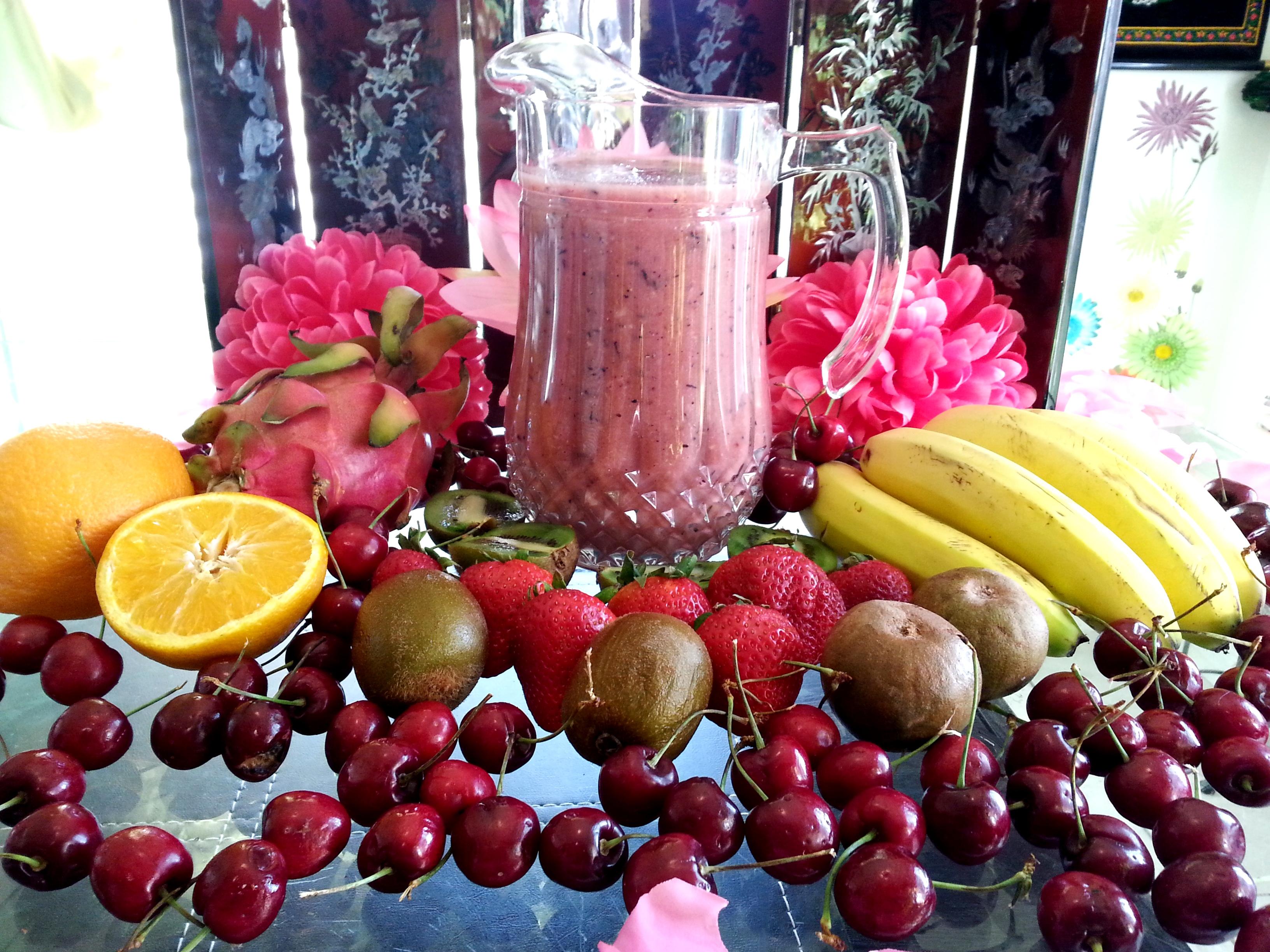 Mixed Fruits & Yogurt Protein Smoothie