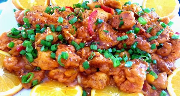 Orange Chicken- Stir Fry Style