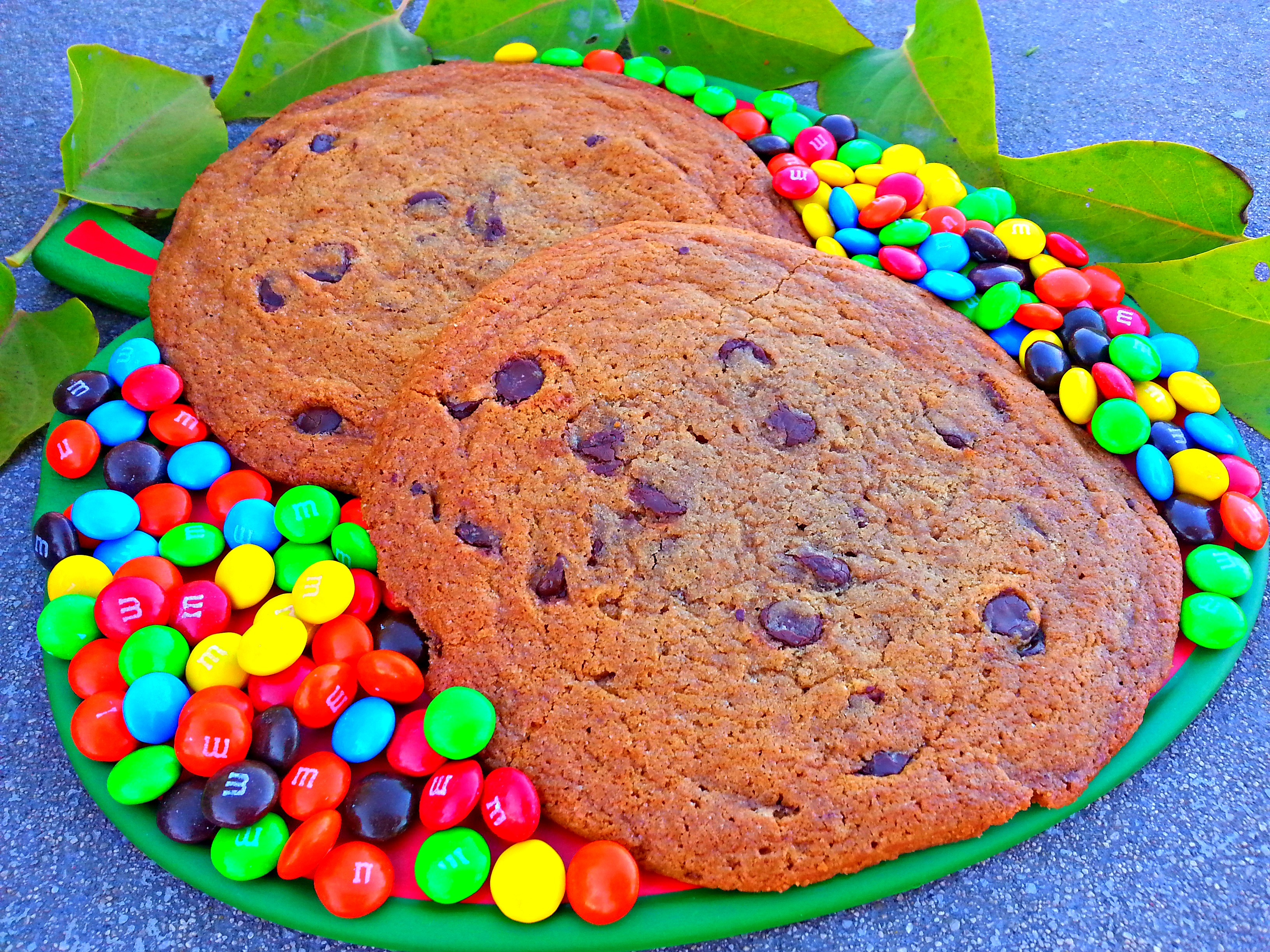Giant Chocolate Chip Cookie | OMGies…