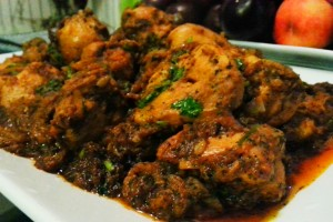 Dahi Methi Murgh- Yogurt Fenugreek leaves Chicken Curry
