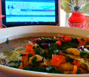 Leafy Green Vegi Soup