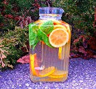 Citrus Detox Water (Grapefruit, Lemon, Mint Detox)
