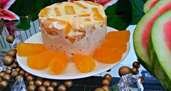 Almond Petha Kulfi Cake