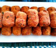Chicken Potato and Cheese Croquettes