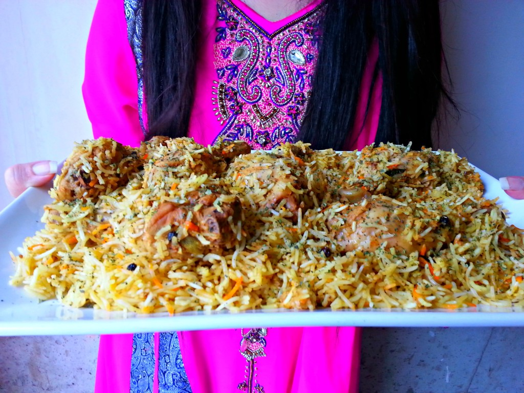 Methi Chicken Leg Biryani