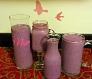 Berry Greek Yogurt Smoothie