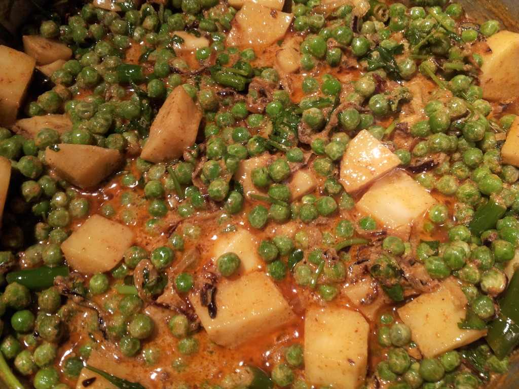 Peas and Aloo Pulao