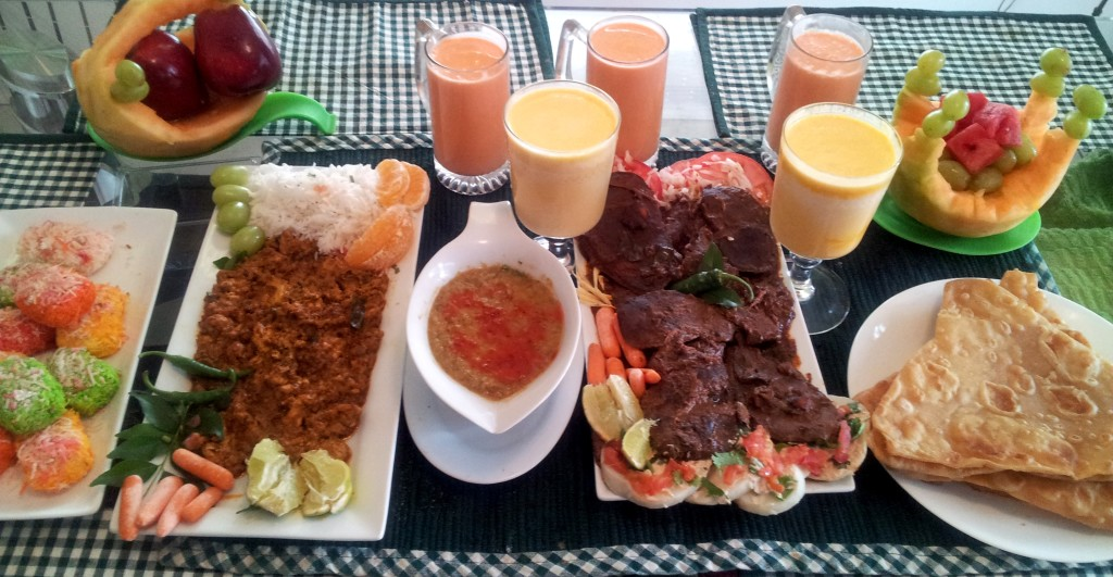 Pakistani Breakfast Table