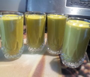 Spinach Mango Lassi Recipe