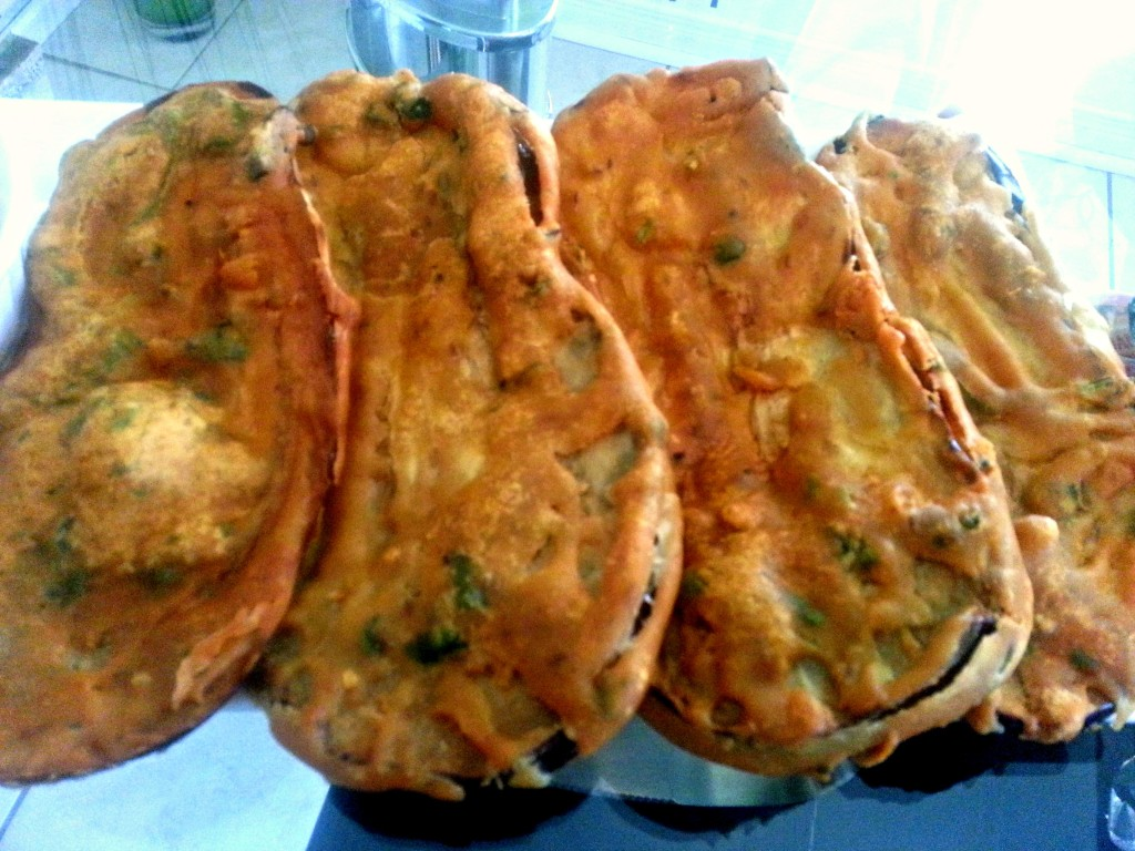 Step to Step Recipe Eggplant Fried Fritters