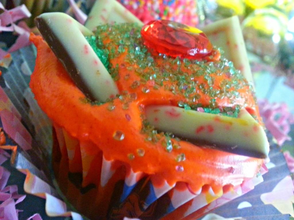 Colorful cupcakes recipe