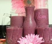 Blueberry Strawberry Yogurt Smoothie