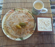 How to make Gobhi Keema Paratha