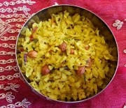 How to Make Poha (Indian Snack)