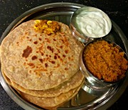 Garlic Aloo Paratha Recipe