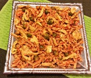 Chicken Fusilli Pasta with Brussels Sprouts