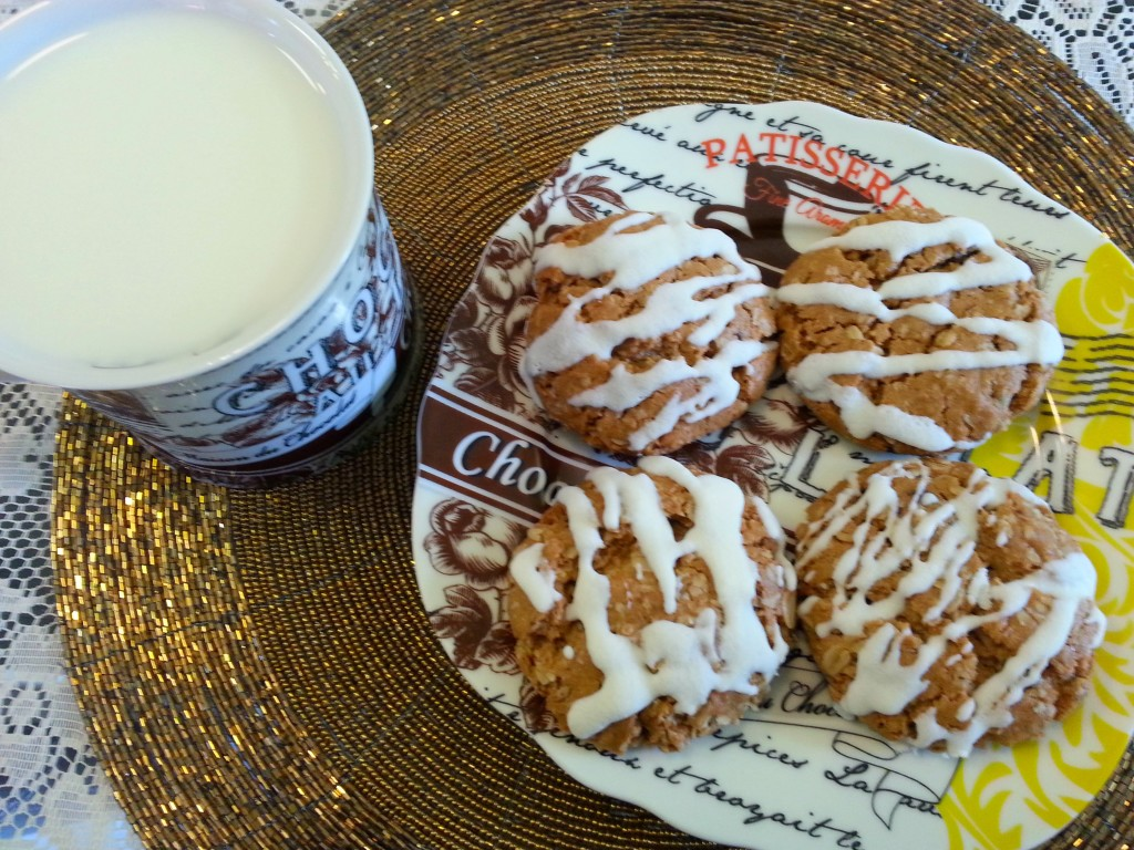 Apple Cinnamon Oatmeal Cookies Recipe