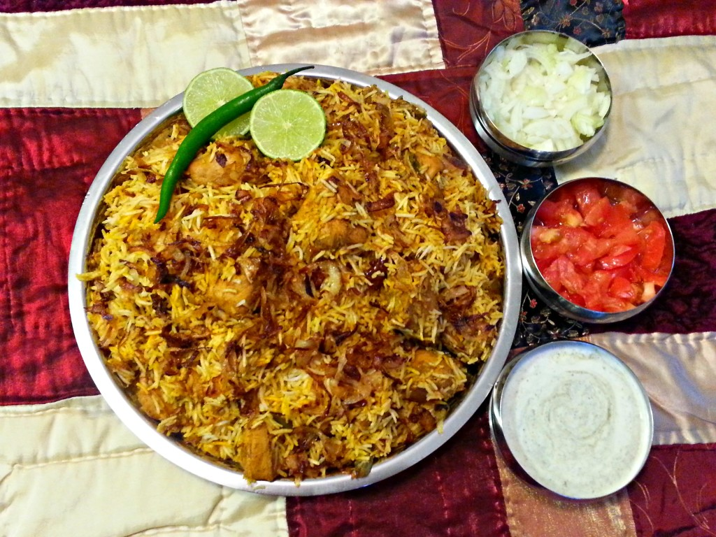 hyderabadi chicken biryani recipe