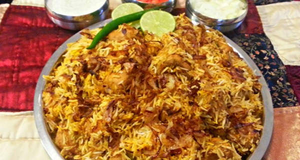 Easy Hyderabadi Chicken Biryani Recipe