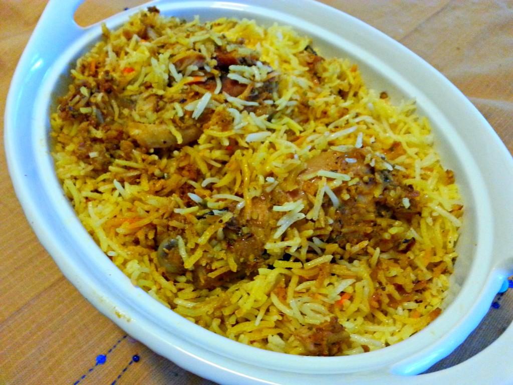 Chicken Drumstick Biriyani