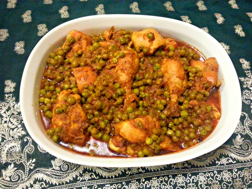 Matar Chicken Curry Recipe