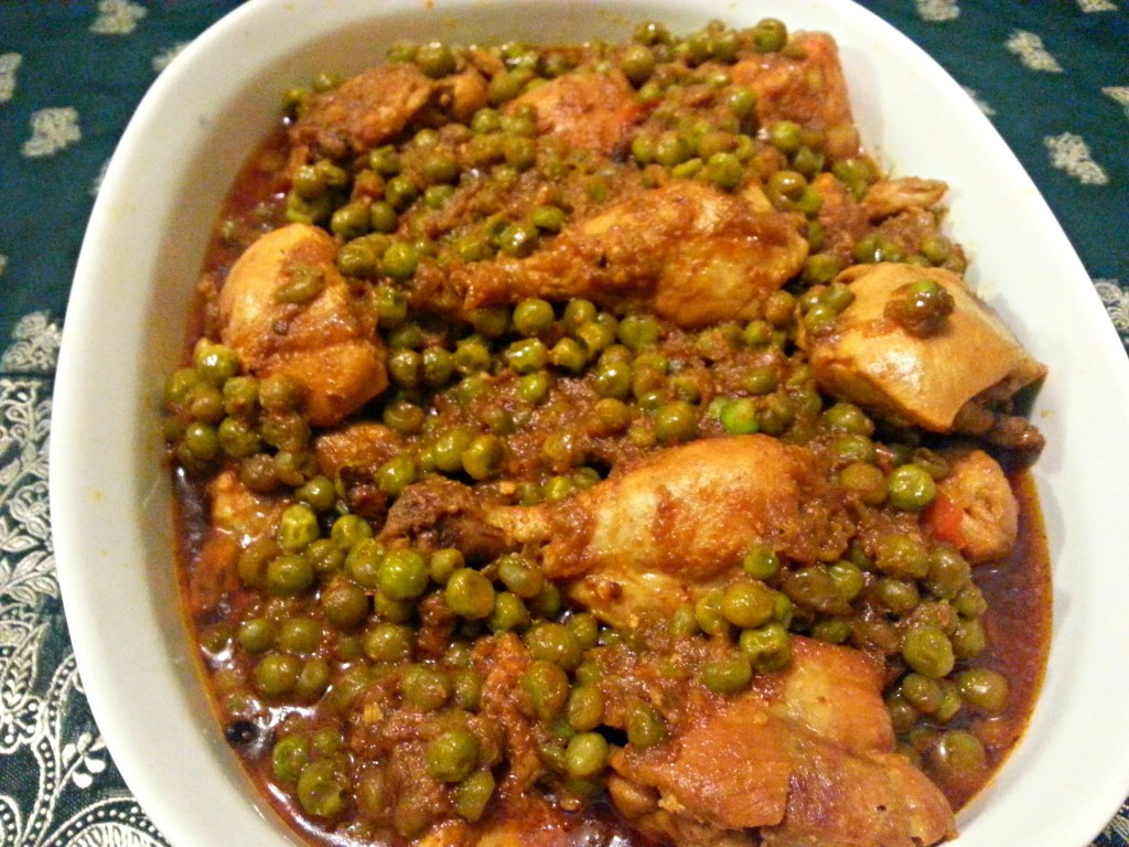 Chicken and Peas Curry